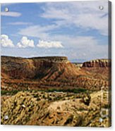 Ghost Ranch Landscape New Mexico 12 Acrylic Print