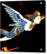 Iconic London Camden Puppets The Flying Princesses Acrylic Print