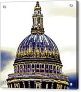 New Photographic Art Print For Sale   Iconic London St Paul's Cathedral Acrylic Print