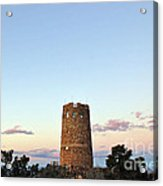 New Photographic Art Print For Sale Indian Watchtower At Grand Canyon Acrylic Print