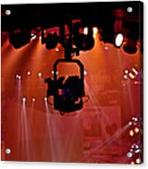 New Photographic Art Print For Sale Lights Camera Action Backstage At The American Music Award Acrylic Print