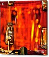 Transparent Orange Drum Backstage At The American Music Award Acrylic Print