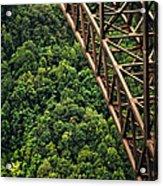 New River Gorge Bridge Steel Acrylic Print