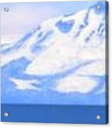 New Snow Lake Tahoe Acrylic Print