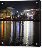 New Husky Stadium Reflection Acrylic Print