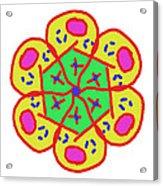 New Toy Flower Acrylic Print
