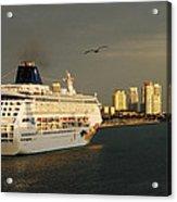 New Voyage Acrylic Print