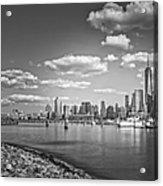 New World Trade Center Bw Acrylic Print