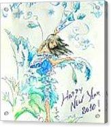 New Year 2010 Acrylic Print