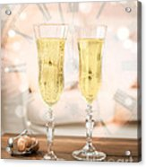 New Year Celebration Acrylic Print