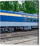 New York And Lake Erie Railroad Acrylic Print