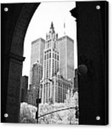New York Arches 1990s Acrylic Print by John Rizzuto