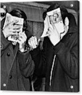 New York Arrest, 1968 Acrylic Print