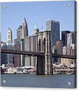 New York Bridge 3 Acrylic Print
