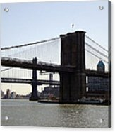New York Bridge 5 Acrylic Print