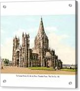 New York City - The Cathedral Church Of St John The Divine - 1915 Acrylic Print