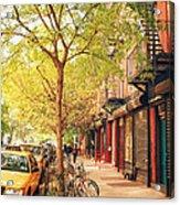 New York City - Autumn In The East Village  Acrylic Print