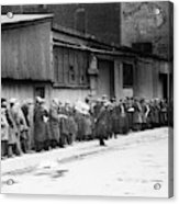 New York City Bread Line Acrylic Print