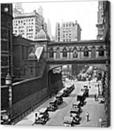 New York City Bridge Of Sighs Acrylic Print
