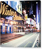 New York City - Broadway Lights And Times Square Acrylic Print