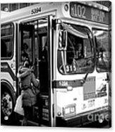 New York City Bus Acrylic Print
