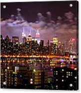 New York City Celebrates Acrylic Print