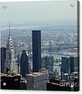 New York City Chrysler Building Acrylic Print