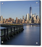New York City Financial District Acrylic Print
