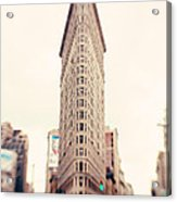 New York City Flatiron Building Acrylic Print