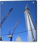 New York City Freedom Tower Acrylic Print
