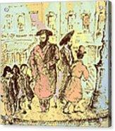New York City Jews - Fine Art Acrylic Print
