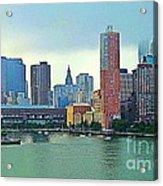 New York City Landscape Acrylic Print