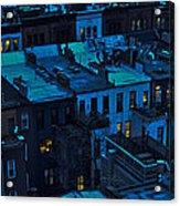 New York City Nightfall Acrylic Print