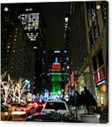 New York City - Park Ave. 001 Acrylic Print