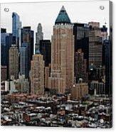 New York City Skyline 19 Acrylic Print
