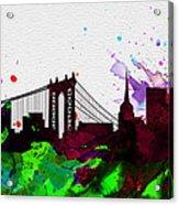 New York City Skyline 2 Acrylic Print