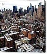 New York City Skyline 20 Acrylic Print