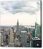 New York City Skyline Acrylic Print