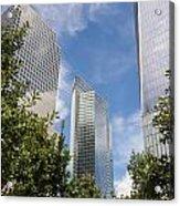 New York City Skyscrapers Acrylic Print