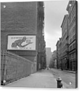 New York City Soho, 1942 Acrylic Print