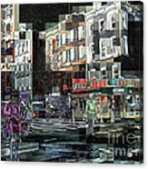 New York City Streets - Ritz Diner Acrylic Print