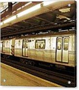 New York City Subway 2 Acrylic Print