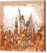 New York City Tribute 4 Acrylic Print