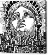 New York City Tribute Acrylic Print
