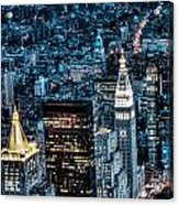 New York City Triptych Part 1 Acrylic Print