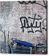 New York City Wall Acrylic Print