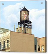 New York City Water Tower 4 - Urban Scenes Acrylic Print