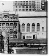 New York Curb Market, 1921 Acrylic Print