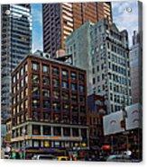 New York Energy Acrylic Print