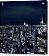 New York Evening Acrylic Print